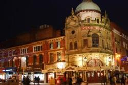 The historic Grand Theatre offers visitors a packed year- round programme of live theatre