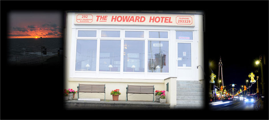The Howard Hotel, a cheap family run bed and breakfast hotel in Blackpool