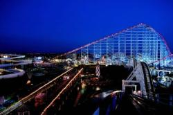 Blackpool Pleasure Beach, one of the UK's busiest theme parks
